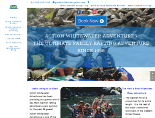 riverguide.com screenshot