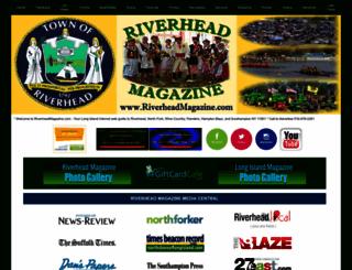 riverheadmagazine.com screenshot