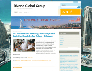 riveriaglobalgroup.wordpress.com screenshot