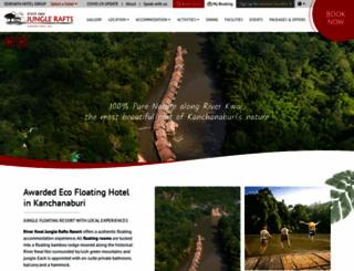 riverkwaijunglerafts.com screenshot