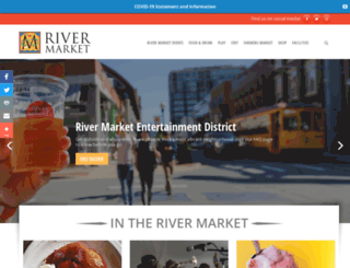 rivermarket.info screenshot