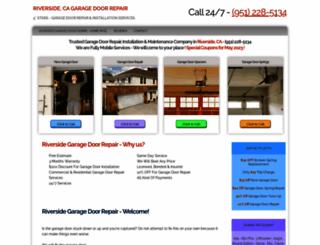 riversidecagaragedoors.com screenshot
