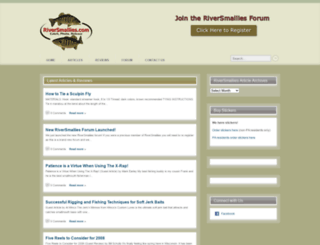 riversmallies.com screenshot