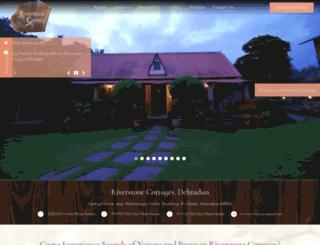 riverstonecottages.com screenshot