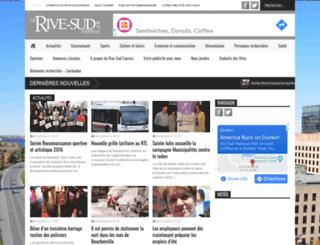 rivesudexpress.ca screenshot