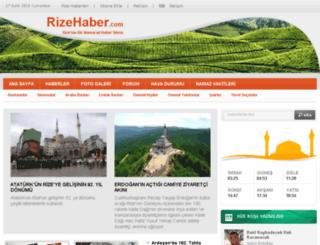 rizehaber.com screenshot