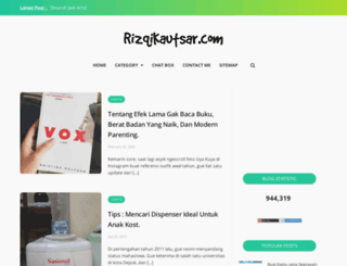 rizqikautsar.com screenshot