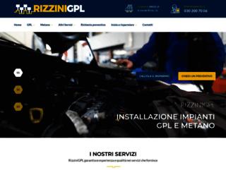 rizzinigpl.it screenshot