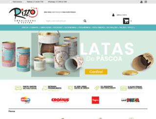 rizzoembalagens.com.br screenshot