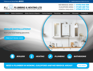 rjplumbingandheating.co.uk screenshot