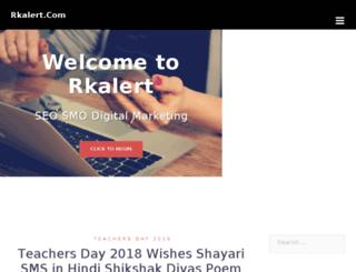 rkalert.com screenshot