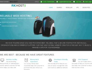 rkhost.net screenshot