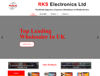 rkselectronics.com screenshot