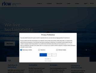 rkw-group.com screenshot