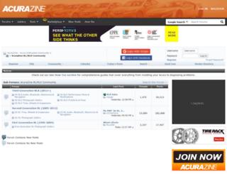 rl.acurazine.com screenshot