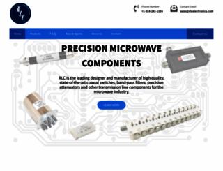 rlcelectronics.com screenshot