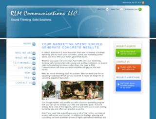 rlmcommunications.com screenshot