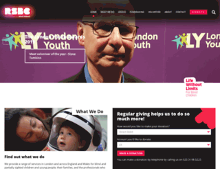 rlsb.org.uk screenshot