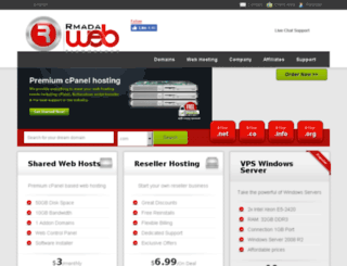 rmadaweb.com screenshot