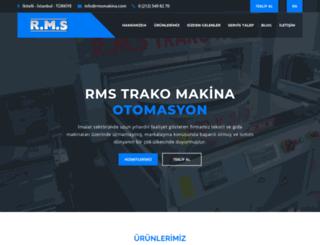 rmsmakina.com screenshot