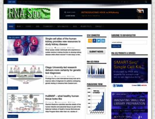 rna-seqblog.com screenshot