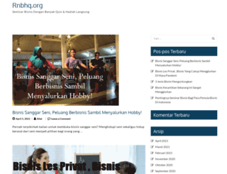 rnbhq.org screenshot