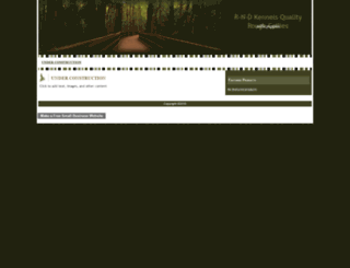 rndkennels.webs.com screenshot