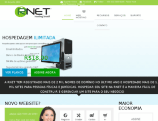 rnethost.com.br screenshot