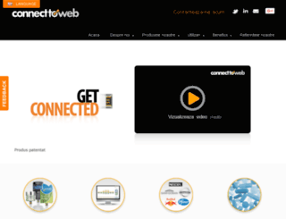 ro.connect-to-web.com screenshot