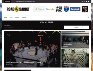 roadbandit.com screenshot