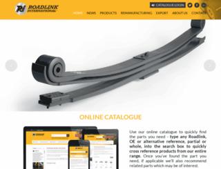 roadlink-international.com screenshot