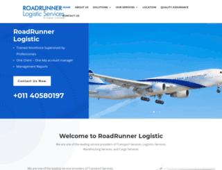 roadrunnerlogistic.com screenshot