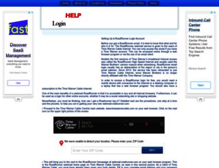 roadrunnerwebmail.loginassistant.org screenshot