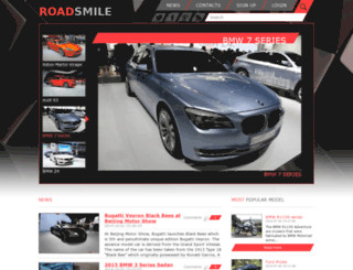 roadsmile.com screenshot