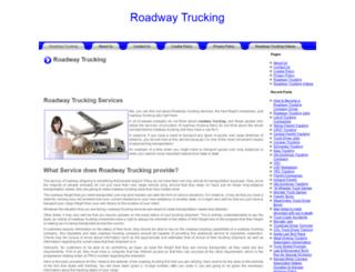 roadwaytrucking.org screenshot