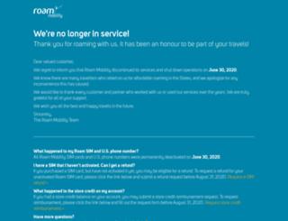 roammobility.com screenshot