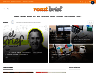 roastbrief.com.mx screenshot