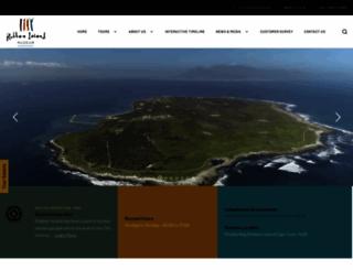 robben-island.org.za screenshot