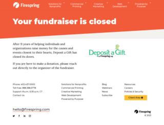 robbiemoscamemorialfund.mydagsite.com screenshot