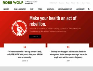 robbwolf.com screenshot