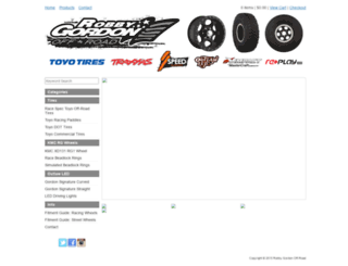 robbygordonwheels.bigcartel.com screenshot