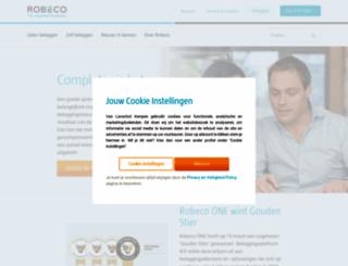 robeco.nl screenshot