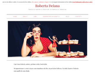 robertadeiana.com screenshot