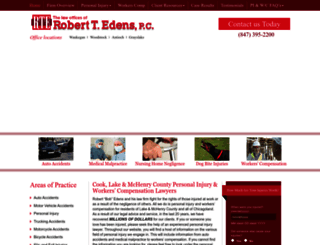 robertedenslawoffice.com screenshot