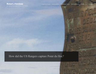 robertjkershaw.com screenshot