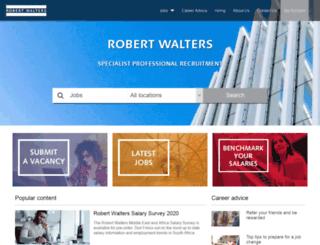robertwalters.co.za screenshot