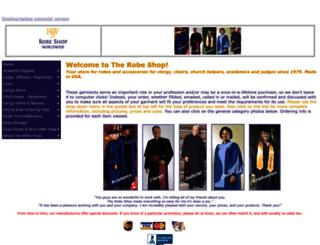 robeshop.com screenshot