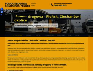 robex-pomocdrogowa.pl screenshot
