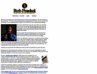 robfrankel.com screenshot