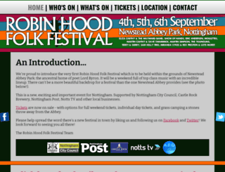 robinhoodfolkfestival.co.uk screenshot